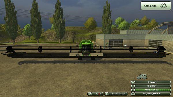 Cutter Fendt 28000 V 1 0 Farming Simulator 2017 17