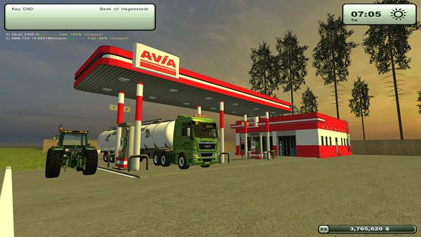 GAS AVIA Station v 1.0