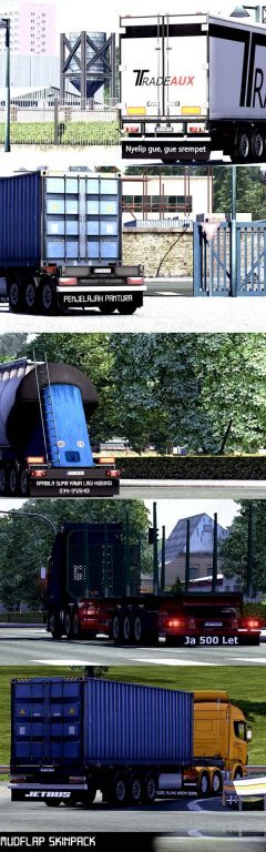 Indonesian Mudflap Trailer Pack