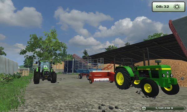 Jonh Deere 1850 AND 940 v 2.1