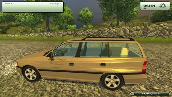 Opel Astra Caravan v 1