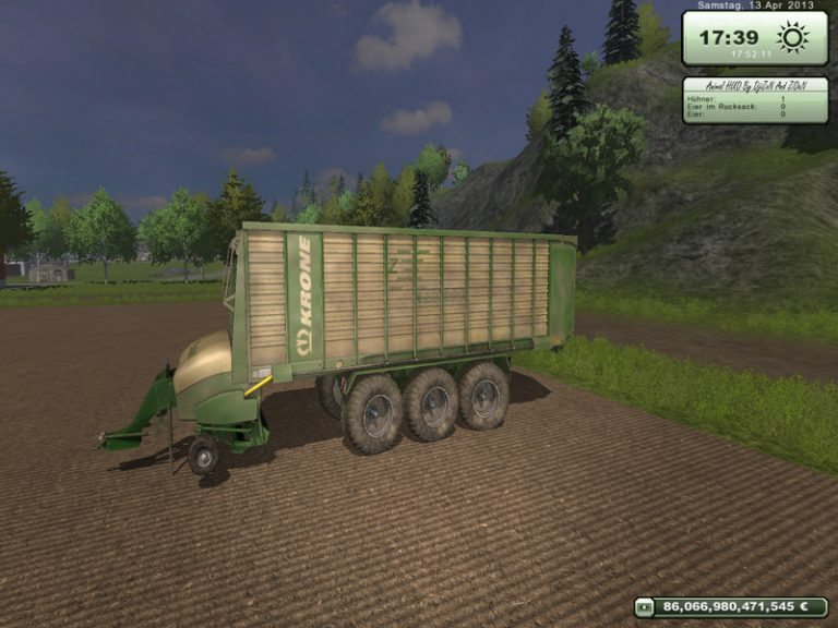 krone ZX 550 GD Pack v 1.0