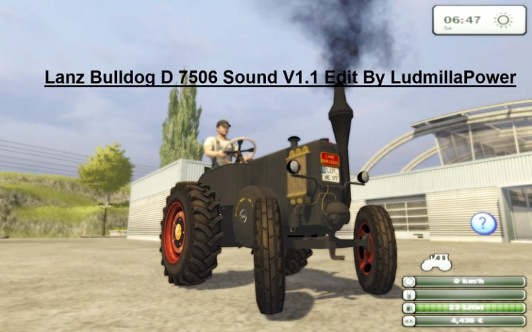Lanz Bulldog D 7506 Sound v 1.1