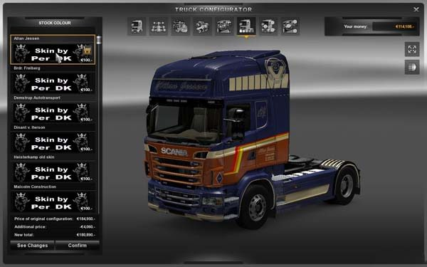 Malcolm Construction Scania R560