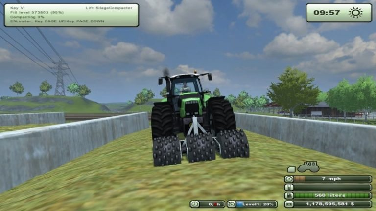Stehr silage compactor v 1.0