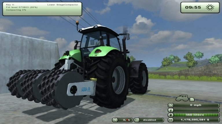 Stehr silage compactor v 1.1