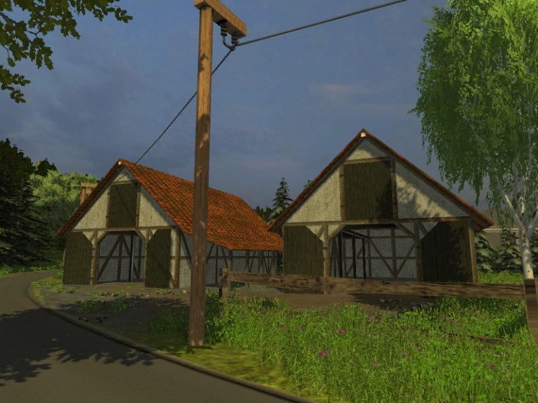 Timbered barn v 1.0