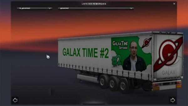 Pack Trailer Galax Time