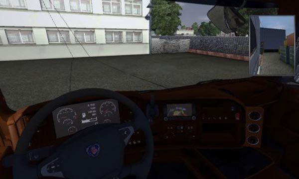 Scania R2009 Interior