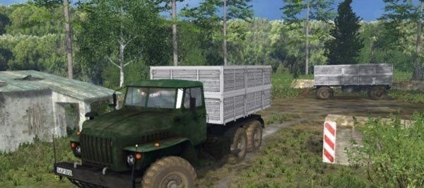 4320 Ural and trailers v 1.2 [MP] 1