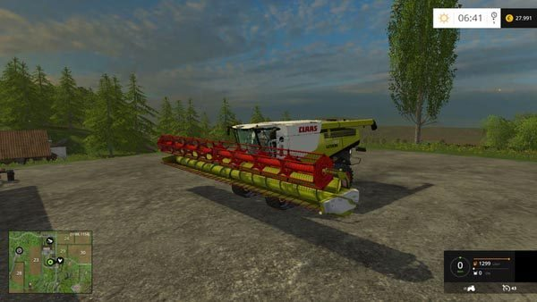 Claas Lexion 780 Multi Fruit v 2.3
