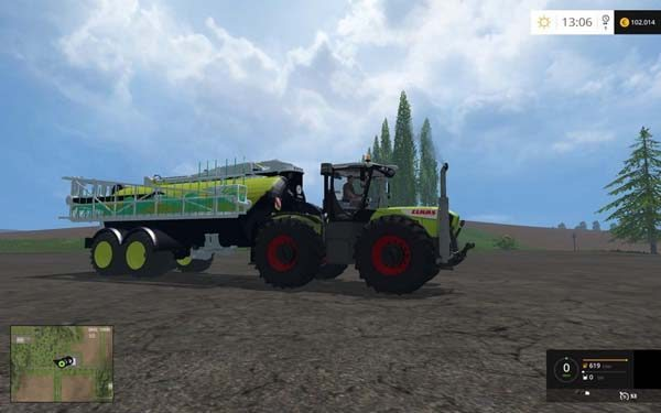 Claas Xerion 3800VC v 2.0 [MP] 1
