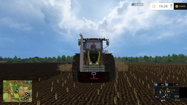 Claas weights v 2.0 [MP] 2