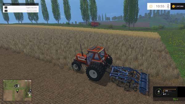 Fiat 110-90 DT Farming simulator 2015 Mods, FS 2015 Tractors