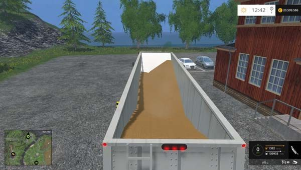 Grain hopper whit dolly v 1.0 [MP] 1