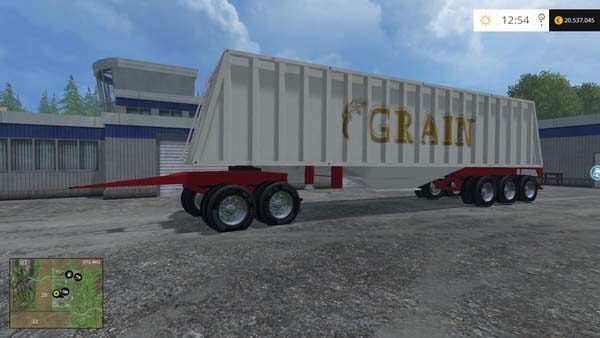 Grain hopper whit dolly v 1.0 [MP]
