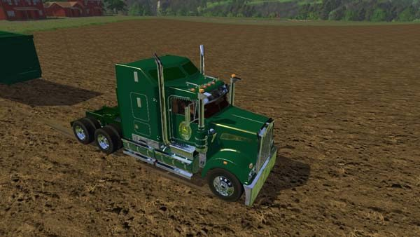 John Deer Truck and Trailer 1