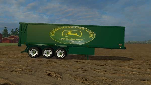 John Deer Truck and Trailer 5