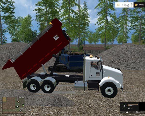 Kenworth dump v 1.0 [MP] 1