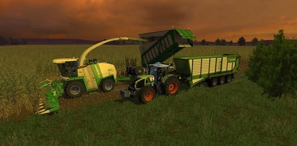 Krone BigX 1100 BeastPack v 12.0 Beta [MP] 1