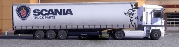 Krone Profi liner and Cool liner skin – Scania Truck Parts
