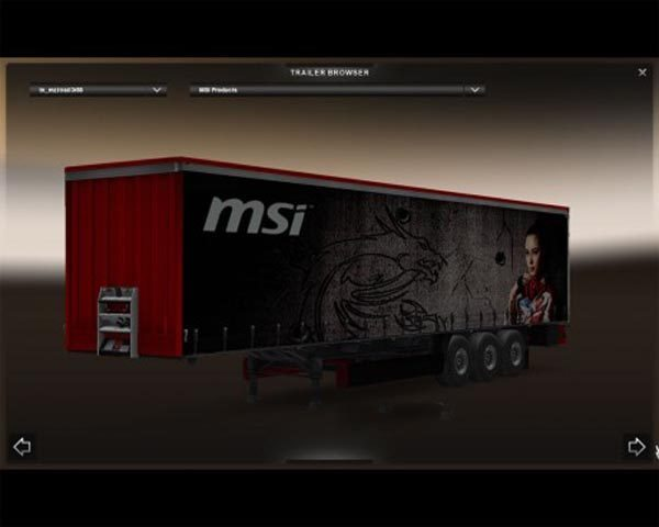 MSI trailer mod updated