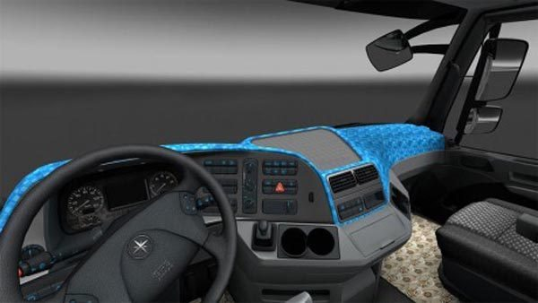 Mercedes Actros MP3 Interior