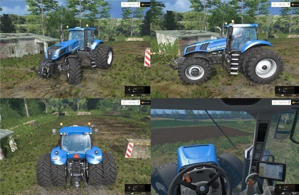 New Holland T 8.275 Twin Wheels 1