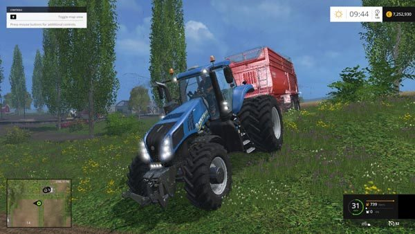 New Holland T 8.275 Twin Wheels 2