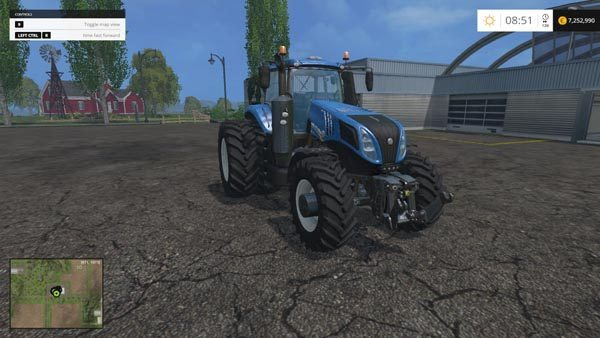 New Holland T 8.275 Twin Wheels