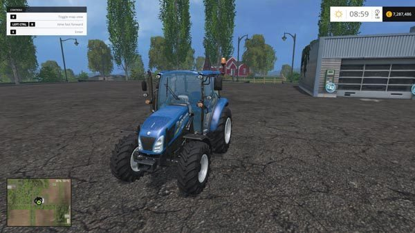 New Holland T4.65 4WD v 2.0 1