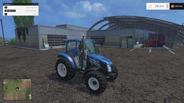 New Holland T4.65 4WD v 2.0