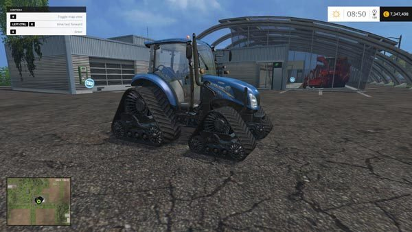 New Holland T475 Tracked 41