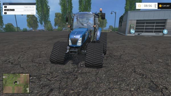 New Holland T475 Tracked