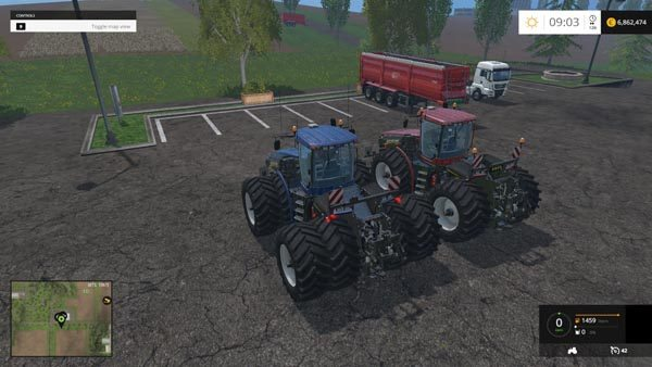 New Holland T9560 HDR Dyeable Twin Pack v 1.4 1