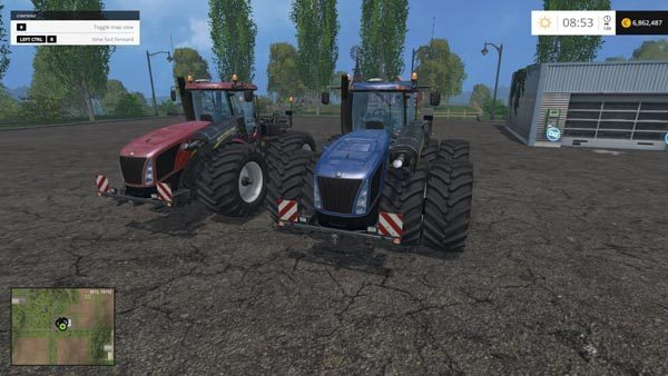 New Holland T9560 HDR Dyeable Twin Pack v 1.4