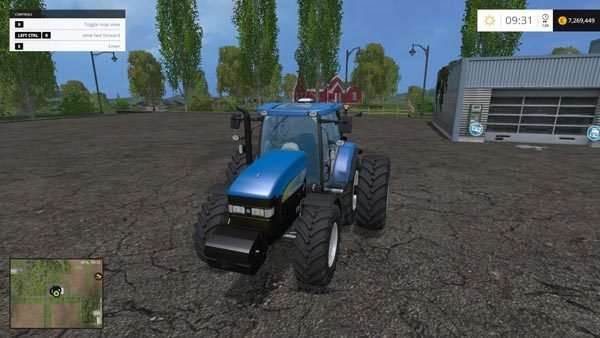 New Holland TM7040 Brazilian Edition 10
