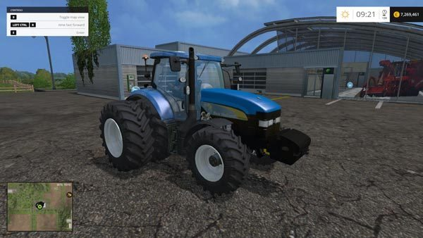 New Holland TM7040 Brazilian Edition