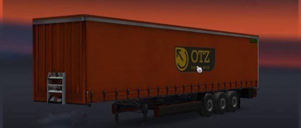 OTZ Logistics Group Trailer Skin