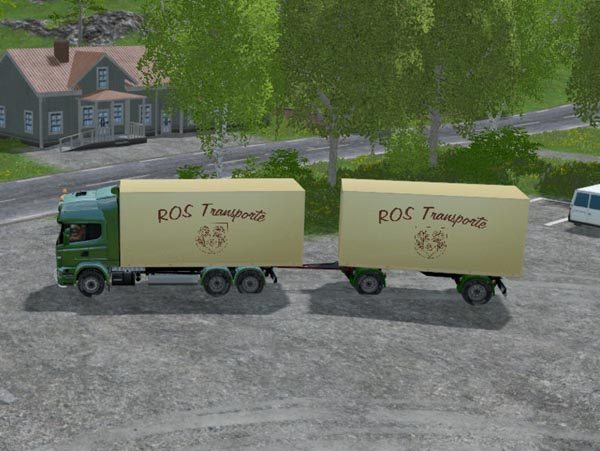 ROS Truck Scania and Trailer v 0.5 beta [SP] 1