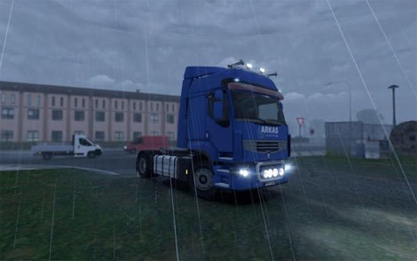 Renault Arkas Logistics Skin