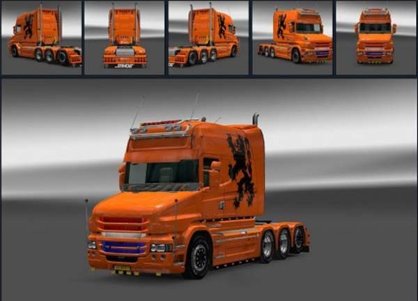 Scania T Dutch Skin
