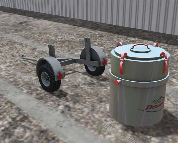 Small MILK TANK with trailer v 1.0 [MP] 2