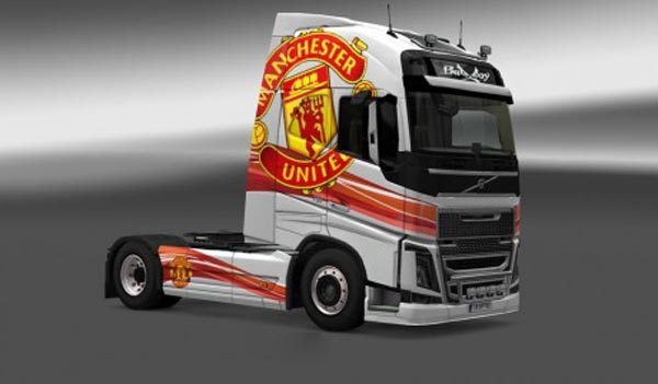 Volvo FH 2012 Manchester United Skin