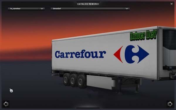 Carrefour Skin Trailers