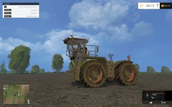 Claas Xerion 3800 SaddleTrac v 2.0 [MP] 1