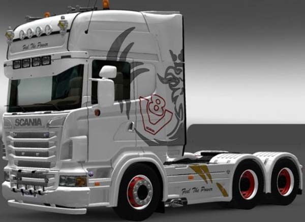 Fell ThePower Scania