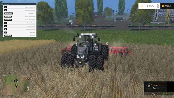 Fendt 828 Vario Black Beauty Series 2