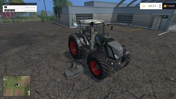 Fendt 828 Vario Black Beauty Series