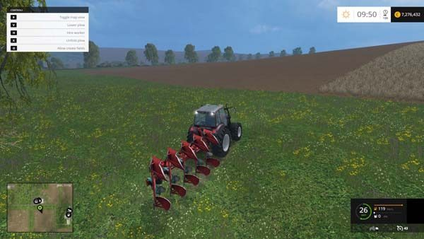 Kverneland plow v 1.0 [MP] 2